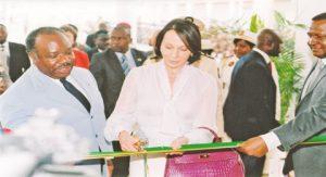 23 mai 2011 Son Excellence Ali BONGO ONDIMBA inaugure l'Ecole