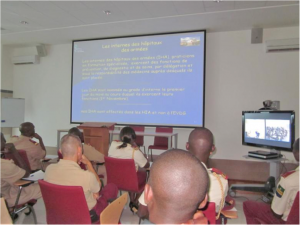 Téléenseignement avec L'école du Val de Grâce (EVDG)